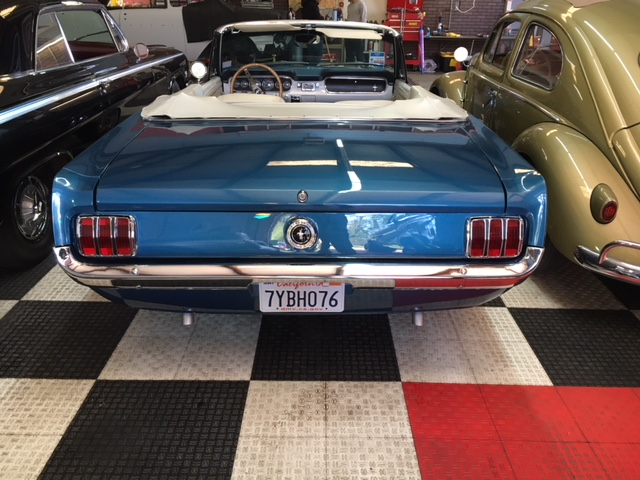 1964.5 Ford Mustang Convertible =289 4 speed Restored Blue For Sale (picture 3 of 6)