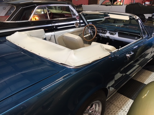 1964.5 Ford Mustang Convertible =289 4 speed Restored Blue For Sale (picture 4 of 6)