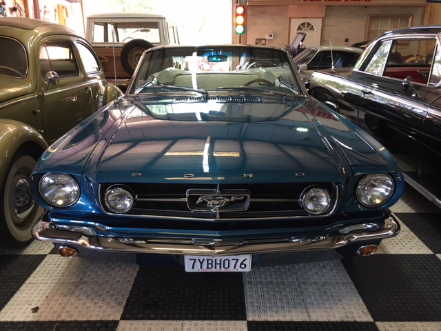 1964.5 Ford Mustang Convertible =289 4 speed Restored Blue For Sale (picture 6 of 6)