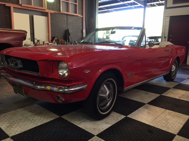 1965 Ford Mustang Convertible = 289 4 Speed Top Loader $obo For Sale (picture 1 of 6)
