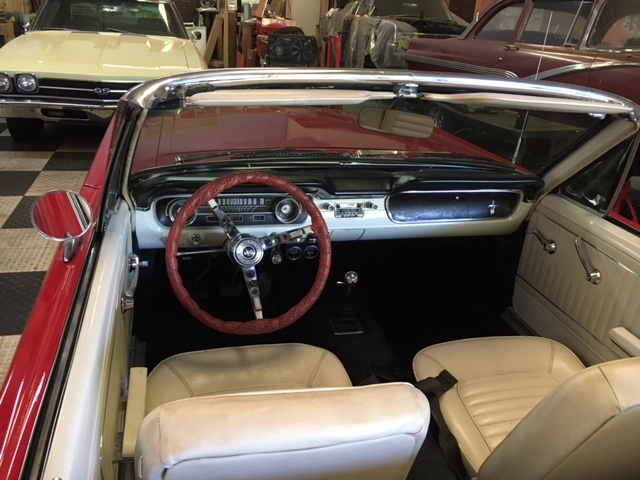 1965 Ford Mustang Convertible = 289 4 Speed Top Loader $obo For Sale (picture 5 of 6)