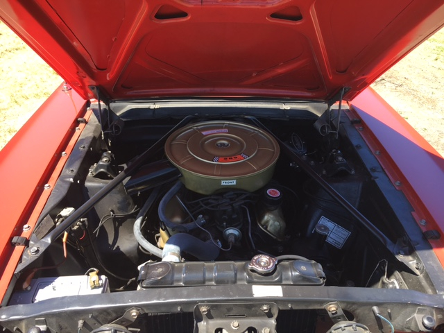 1965 Ford Mustang Convertible = 289 Auto Red Restored $obo For Sale (picture 4 of 6)