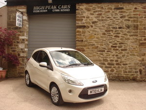2010 10 FORD KA 1.2 ZETEC 65555 MILES A/C. For Sale