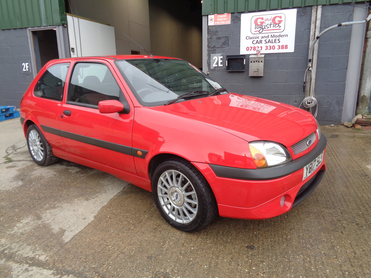 2001  fiesta 1.6 zetec s - 46,000mls fsh - 2 owner For Sale (picture 1 of 6)