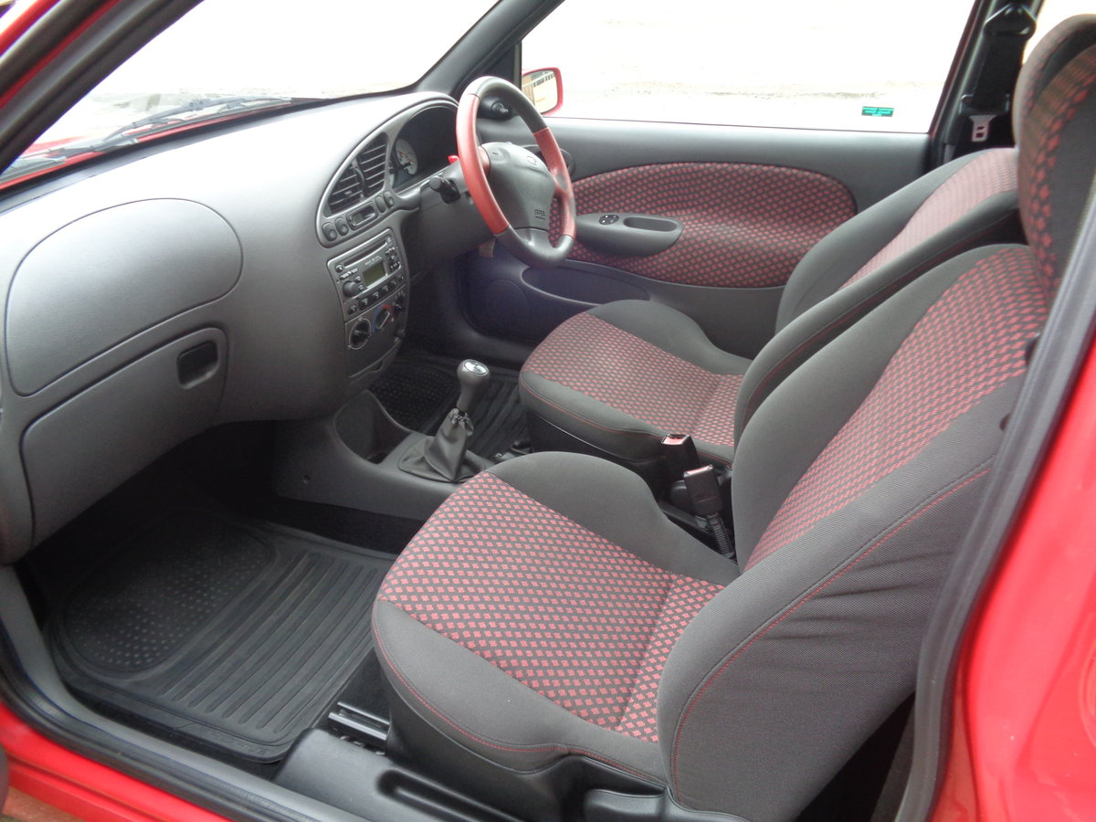 2001  fiesta 1.6 zetec s - 46,000mls fsh - 2 owner For Sale (picture 5 of 6)