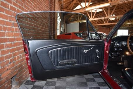 1965 Ford Mustang FastBack = V-8 + Auto Red(~)Black $49.5k  For Sale (picture 6 of 6)