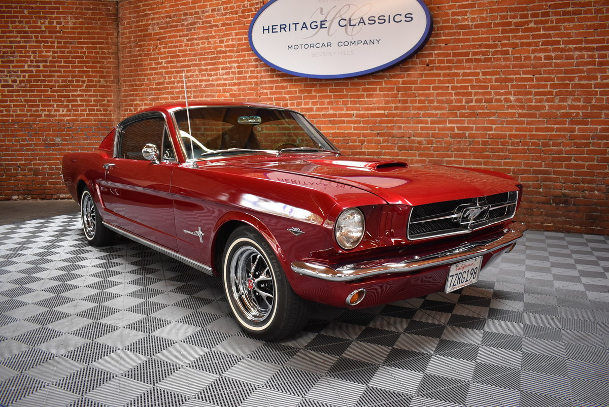 1965 Ford Mustang Fastback SOLD (picture 1 of 6)