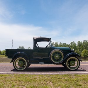 1928 Ford Model AR Open-Cab Pickup = Rare Open-Cab $obo