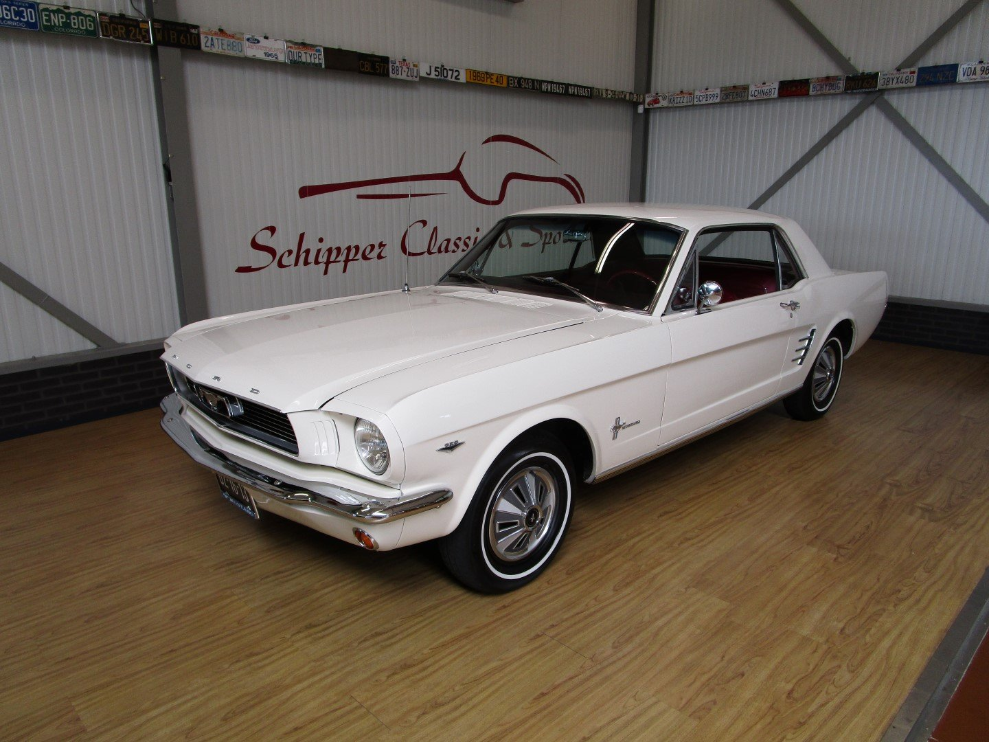 1966 Ford Mustang 289 V8 Coupé Second Owner For Sale (picture 1 of 6)