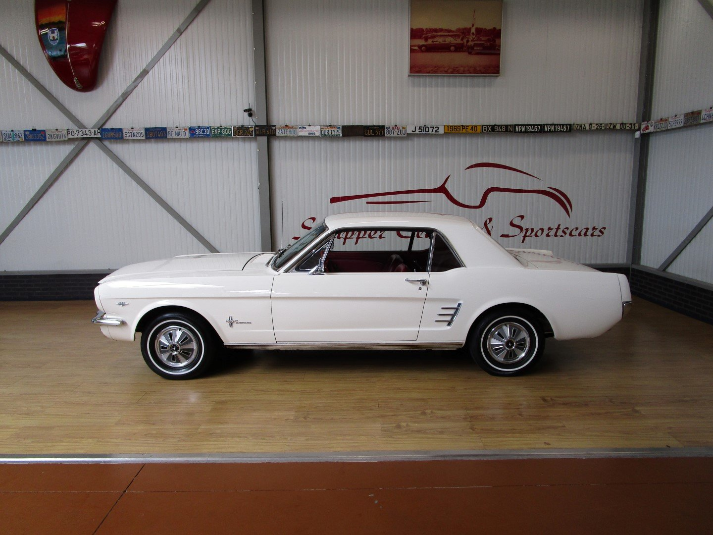 1966 Ford Mustang 289 V8 Coupé Second Owner For Sale (picture 2 of 6)