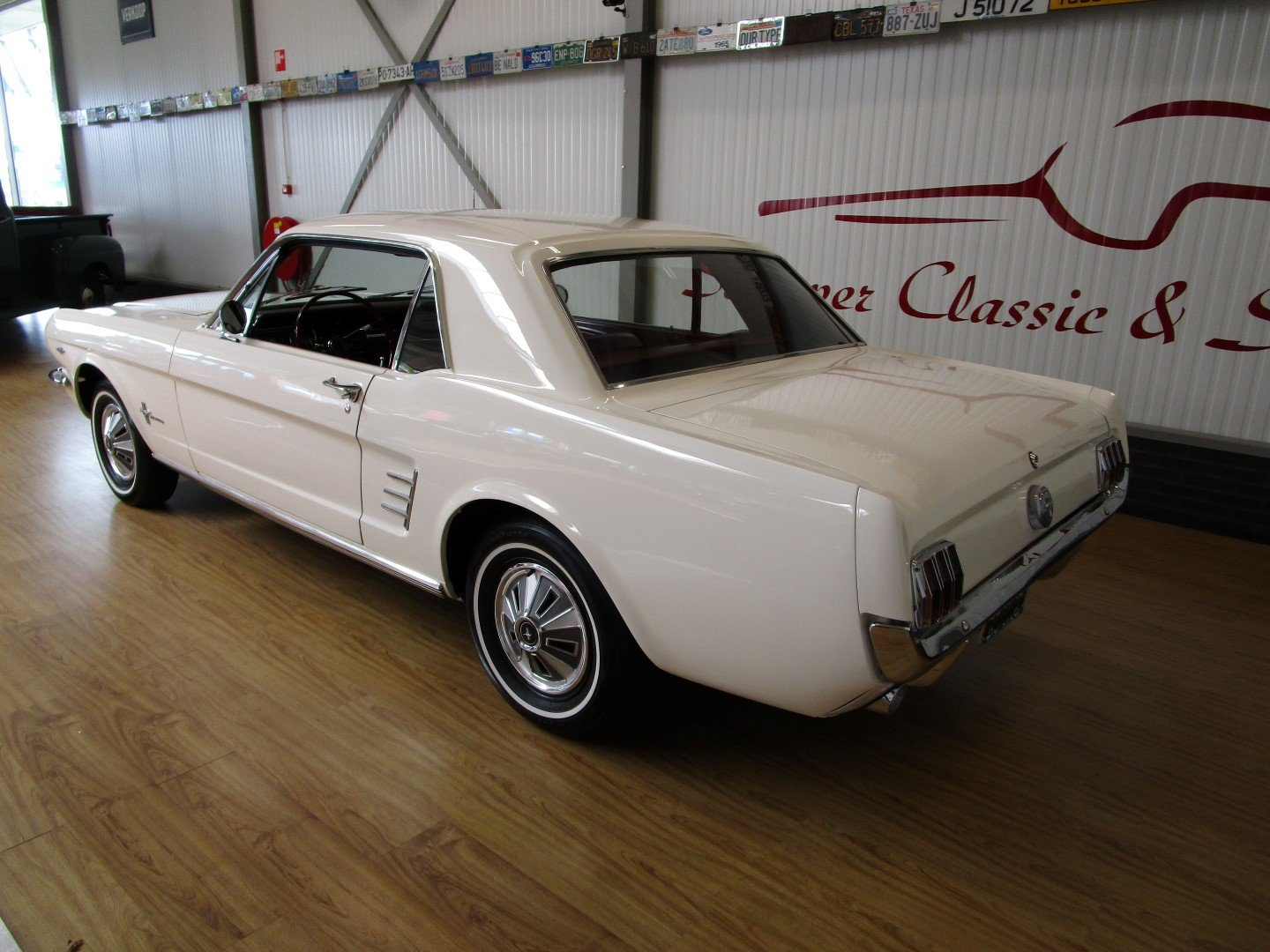 1966 Ford Mustang 289 V8 Coupé Second Owner For Sale (picture 3 of 6)