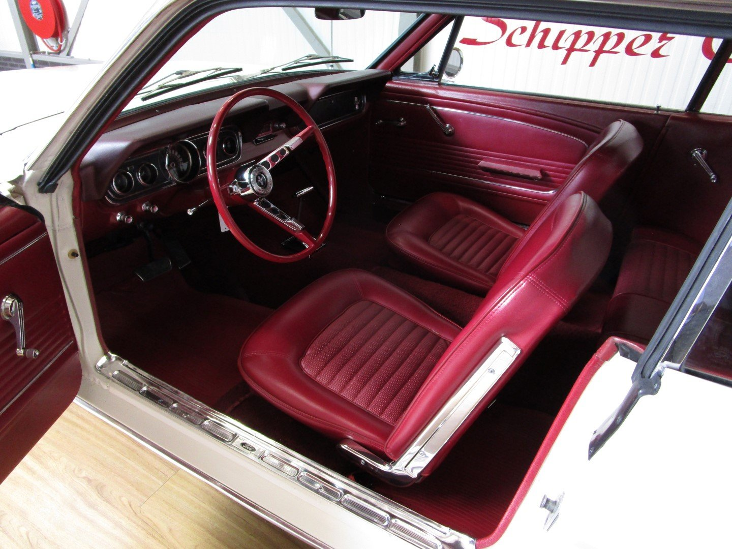 1966 Ford Mustang 289 V8 Coupé Second Owner For Sale (picture 4 of 6)