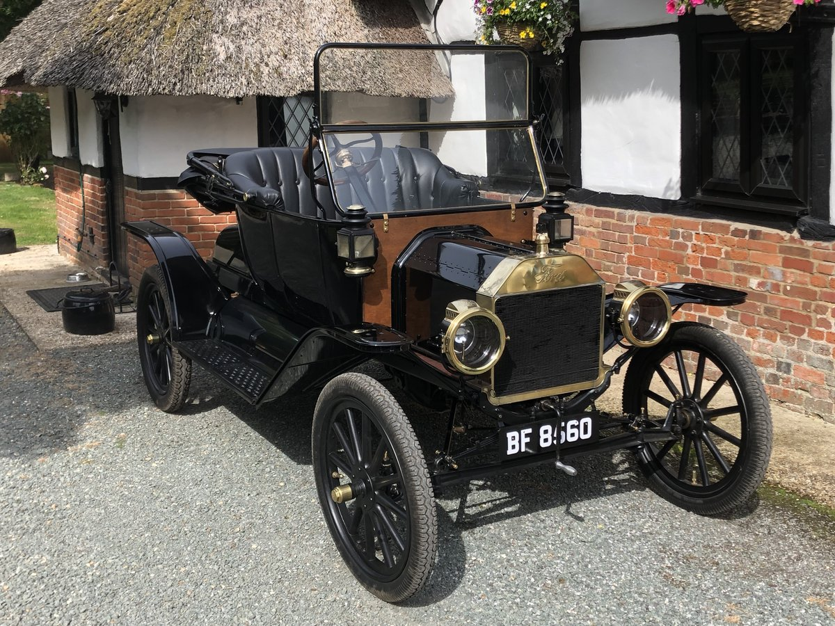 Very Rare 1914 Ford Model T Roadster Vintage Veteran Fully R SOLD (picture 1 of 6)