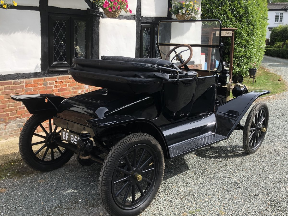Very Rare 1914 Ford Model T Roadster Vintage Veteran Fully R SOLD (picture 3 of 6)