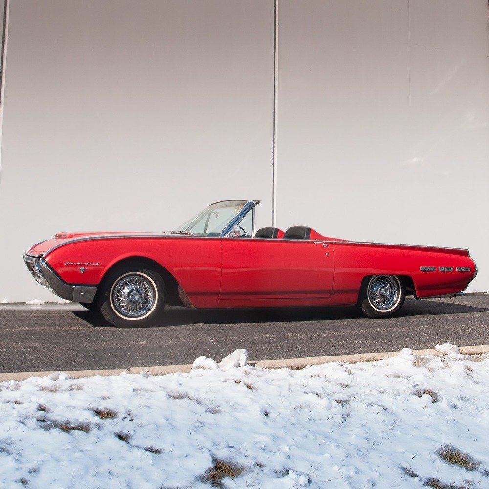 1962 Ford Thunderbird Z-code Sports Roadster = 300-HP $42.9k For Sale (picture 2 of 6)