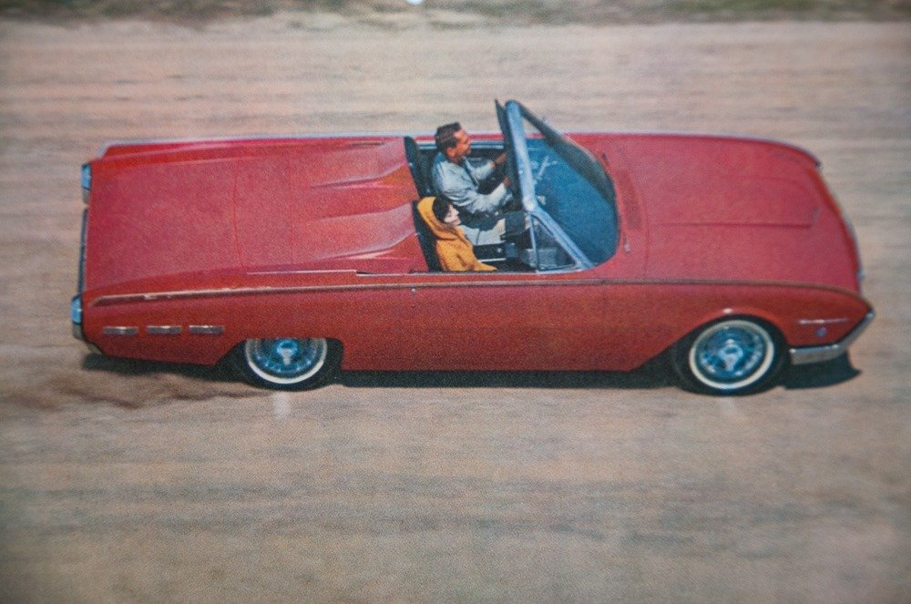 1962 Ford Thunderbird Z-code Sports Roadster = 300-HP $42.9k For Sale (picture 3 of 6)