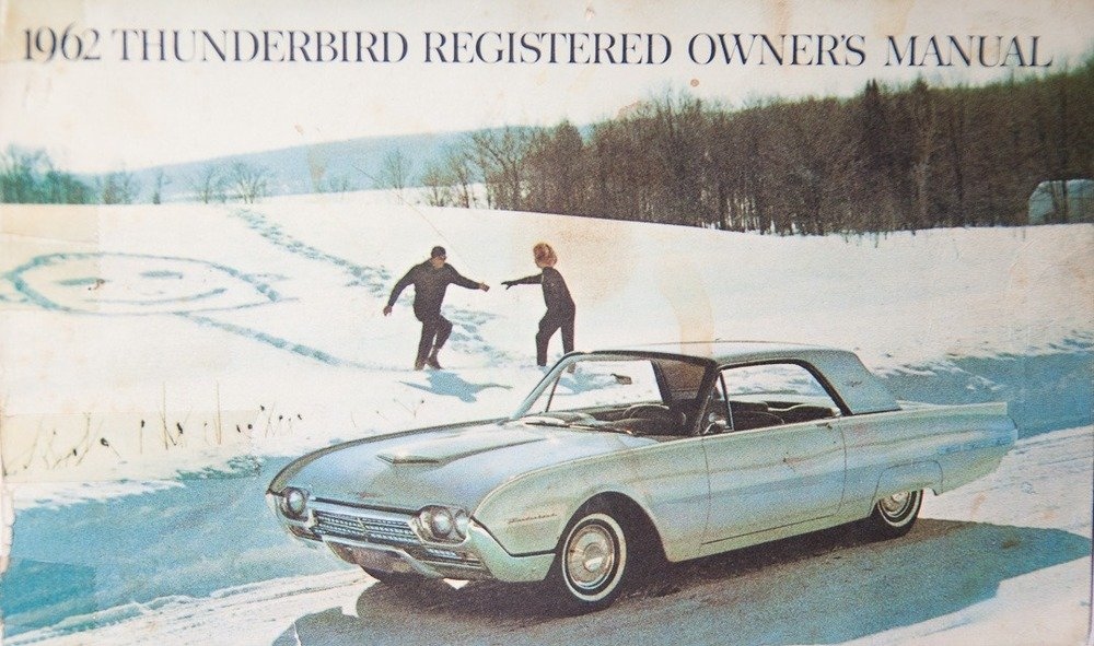 1962 Ford Thunderbird Z-code Sports Roadster = 300-HP $42.9k For Sale (picture 5 of 6)