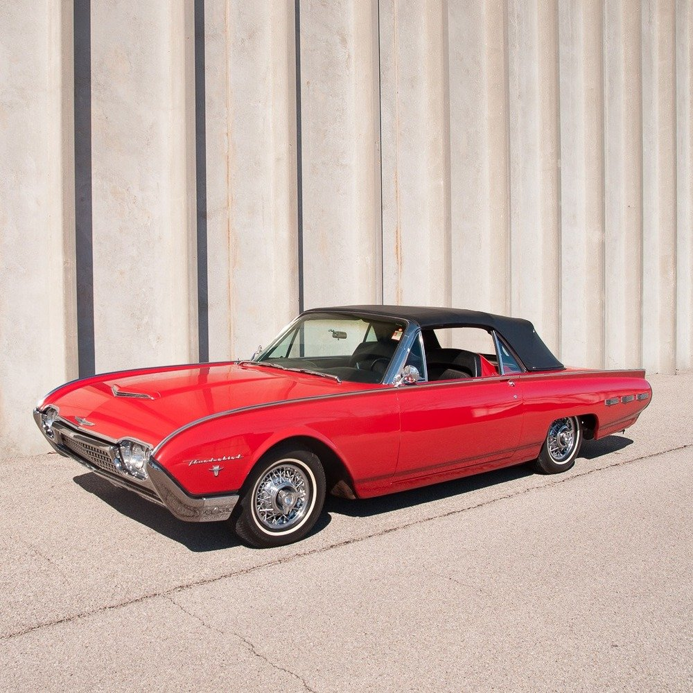 1962 Ford Thunderbird Z-code Sports Roadster = 300-HP $42.9k For Sale (picture 6 of 6)