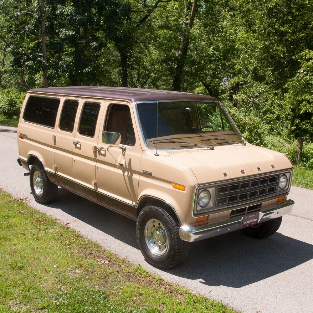 1978 Ford Econoline 250 Club Wagon Chateau Van =All Tan $obo For Sale (picture 1 of 3)