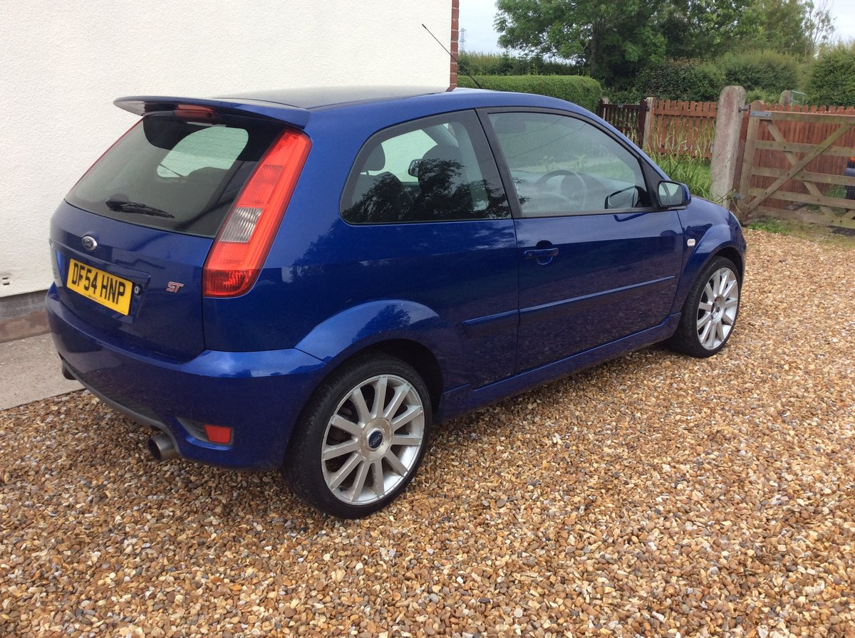 2005 fiesta ST 150 in performance blue 76,000 mile For Sale (picture 2 of 6)
