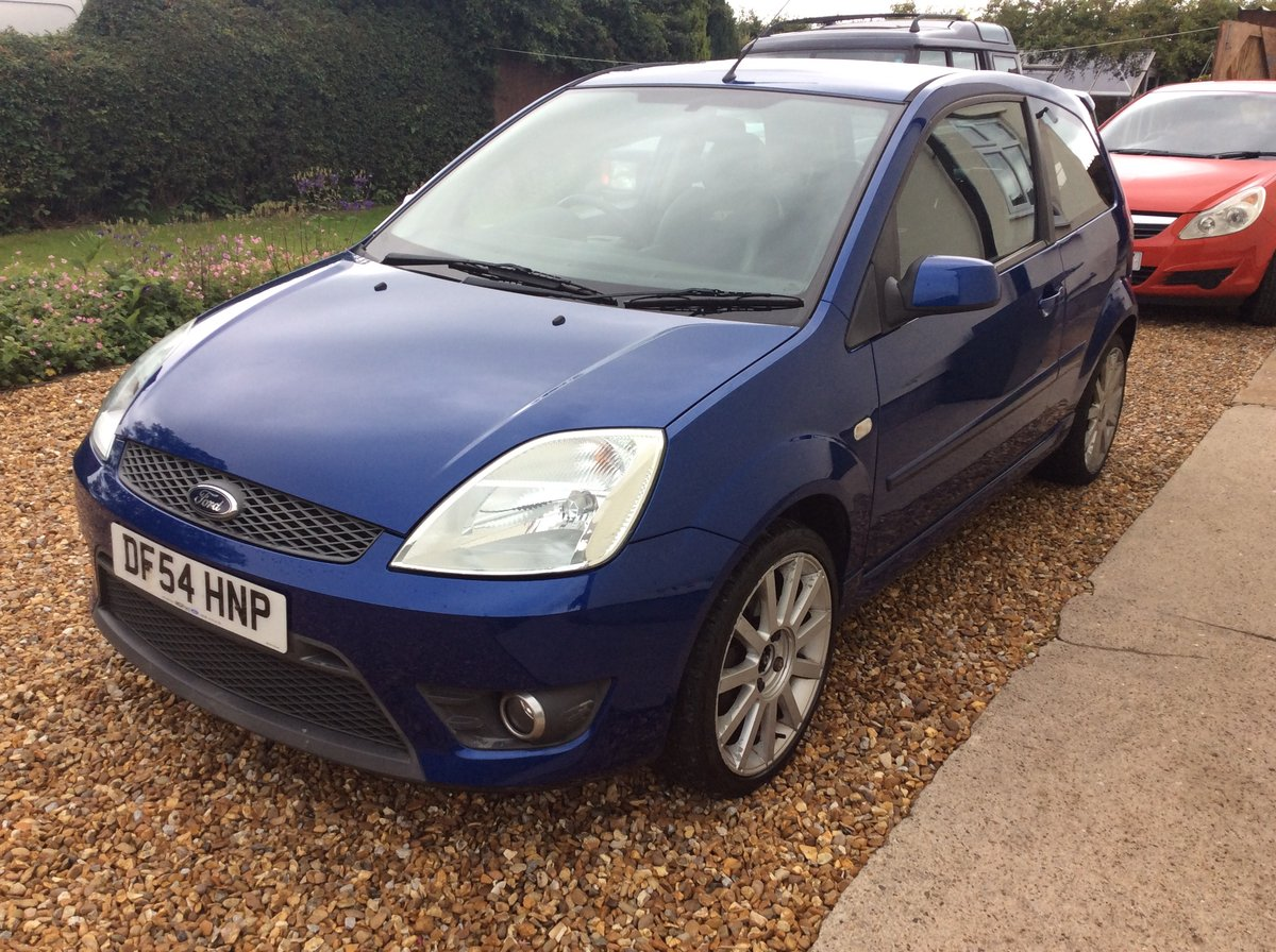 2005 fiesta ST 150 in performance blue 76,000 mile For Sale (picture 5 of 6)