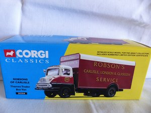 Picture of ROBSON'S of CARLISLE-THAMES TRADER VAN-1:50 MIB For Sale