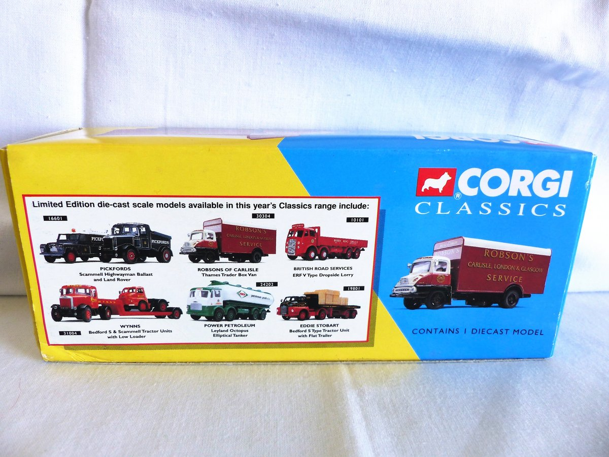 ROBSON'S of CARLISLE-THAMES TRADER VAN-1:50 MIB For Sale (picture 2 of 6)