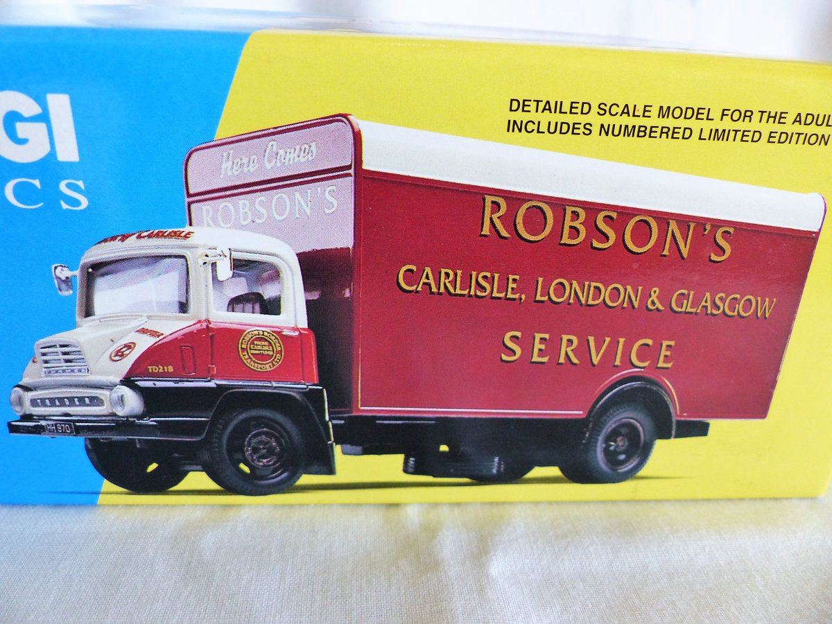 ROBSON'S of CARLISLE-THAMES TRADER VAN-1:50 MIB For Sale (picture 3 of 6)