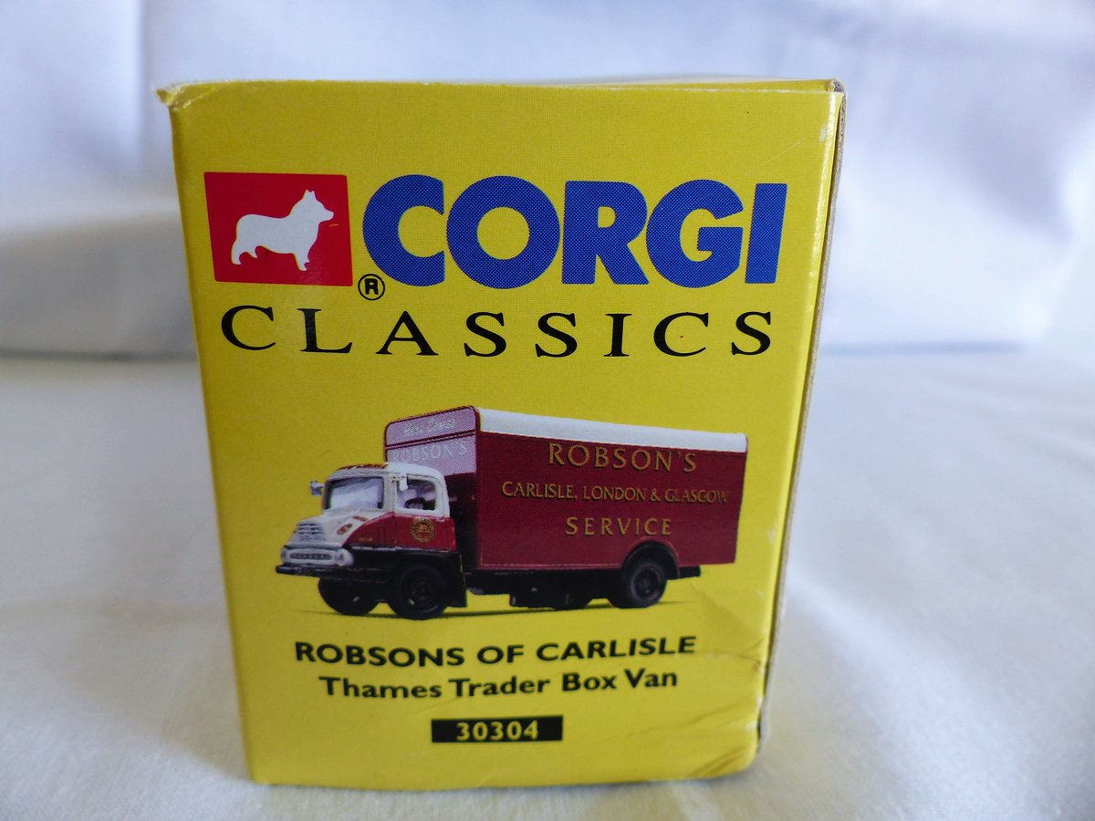 ROBSON'S of CARLISLE-THAMES TRADER VAN-1:50 MIB For Sale (picture 4 of 6)
