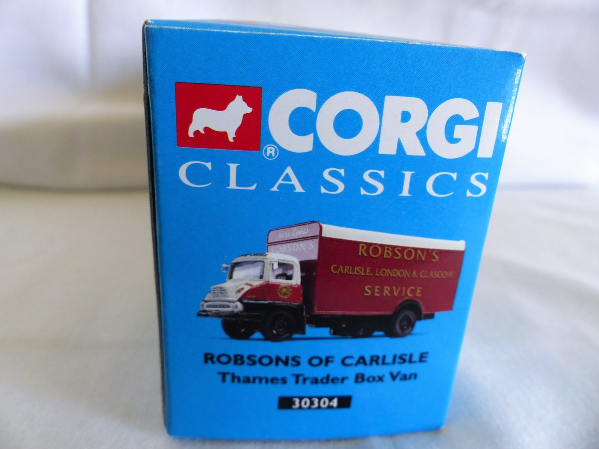 ROBSON'S of CARLISLE-THAMES TRADER VAN-1:50 MIB For Sale (picture 5 of 6)
