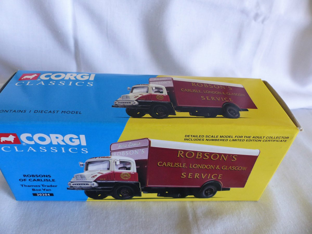 ROBSON'S of CARLISLE-THAMES TRADER VAN-1:50 MIB For Sale (picture 6 of 6)