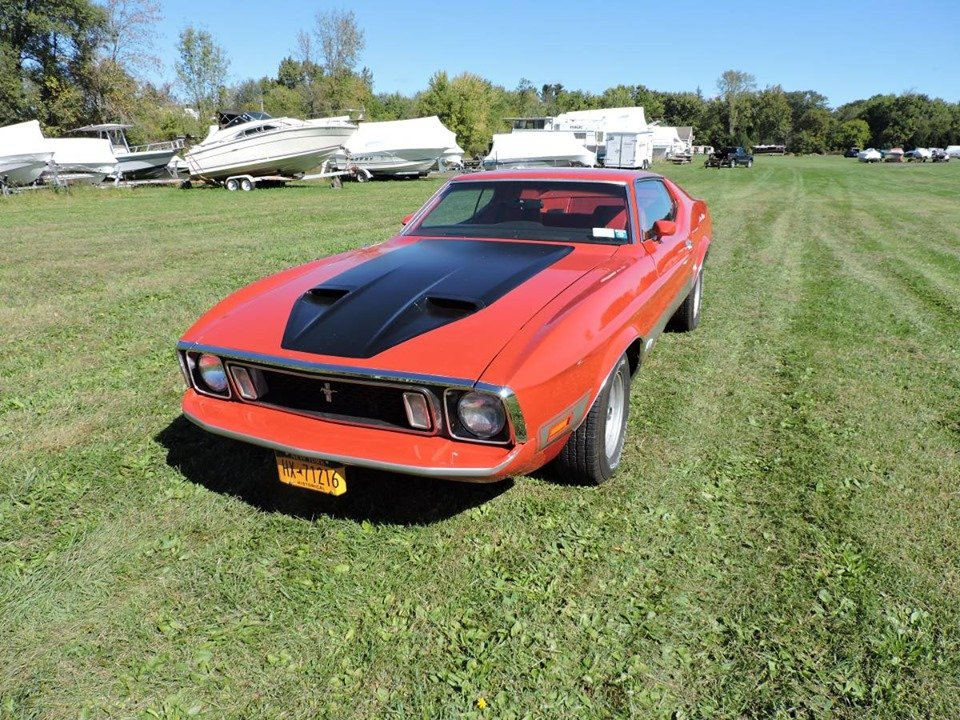1973 Mustang Mach 1 (Alplaus, NY) $19,900 obo For Sale (picture 1 of 6)