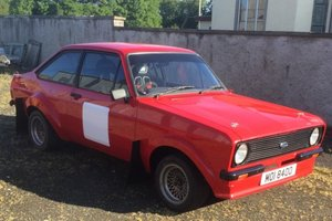 1977 Ford Escort MkII Rally Car For Sale by Auction