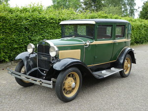 1930 Ford Model A Fordor RHD For Sale