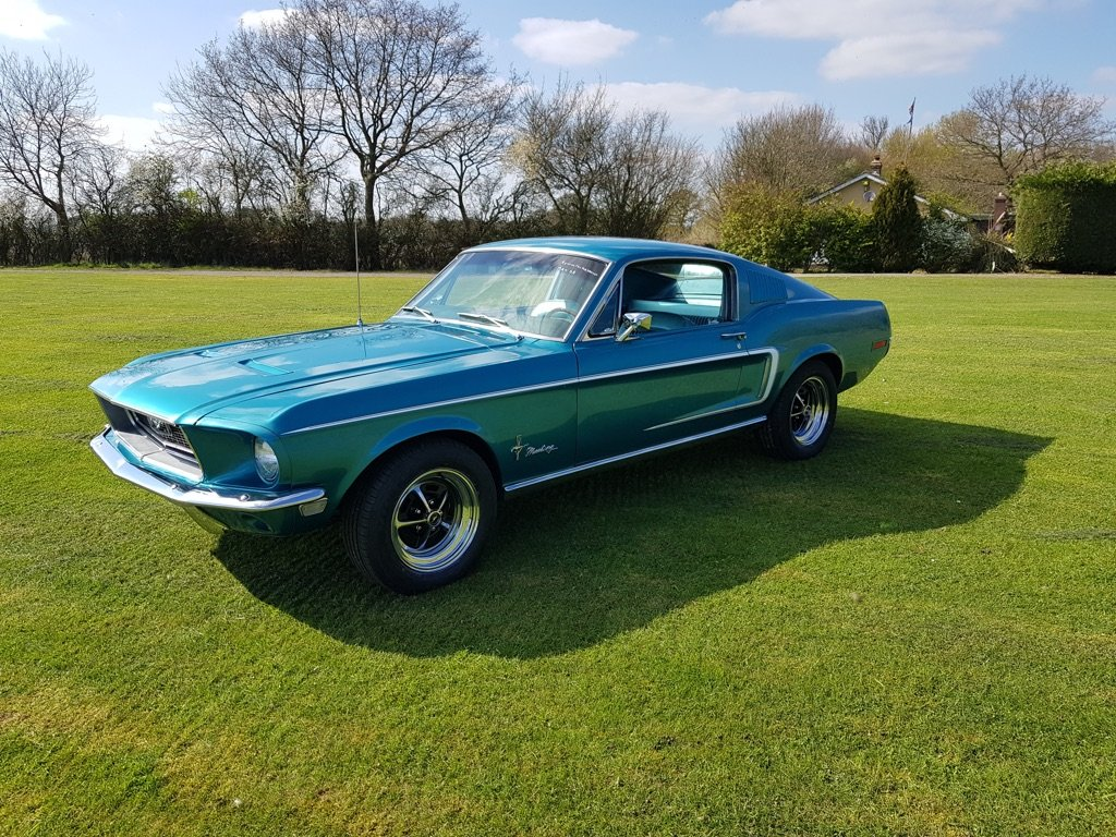 1968 Ford Mustang Fastback V8 and Automatic  For Sale (picture 5 of 6)