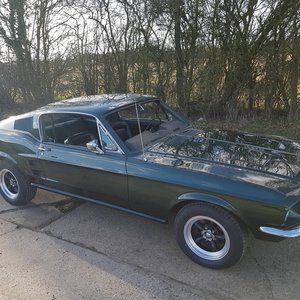 1967 Ford Mustang Fastback Bullitt V8 and 4 speed