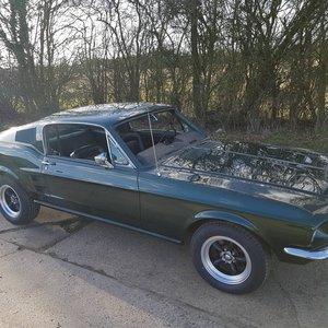 1967 Ford Mustang Fastback Bullitt V8 and 4 speed  For Sale