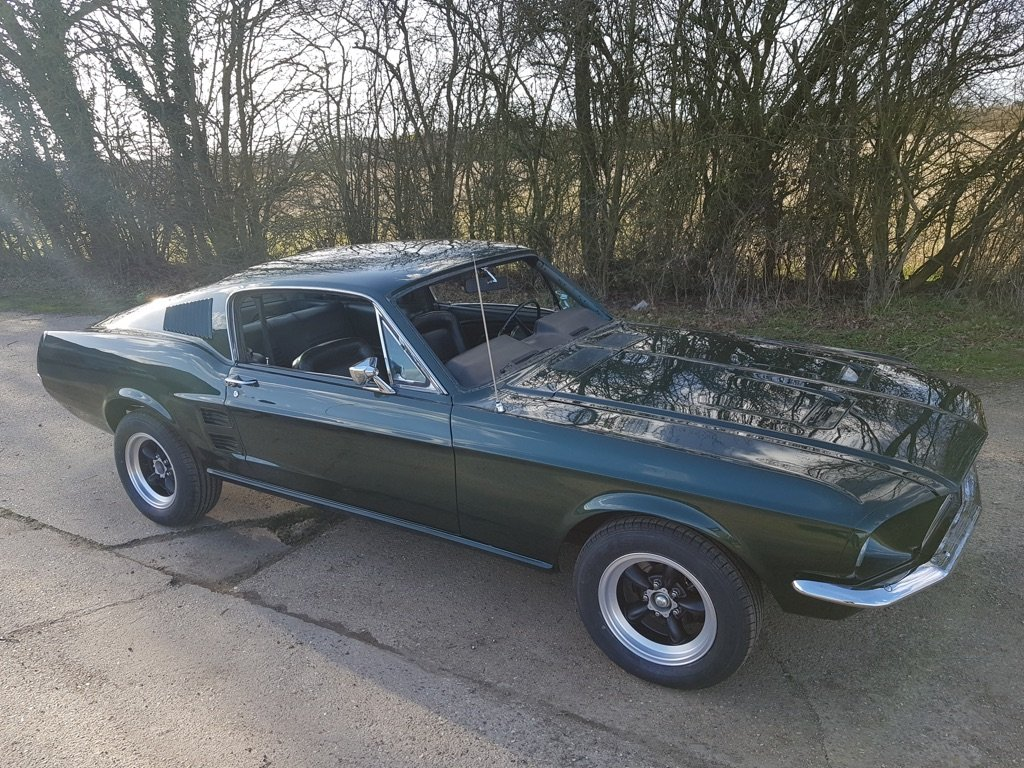 1967 Ford Mustang Fastback Bullitt V8 and 4 speed  For Sale (picture 4 of 4)