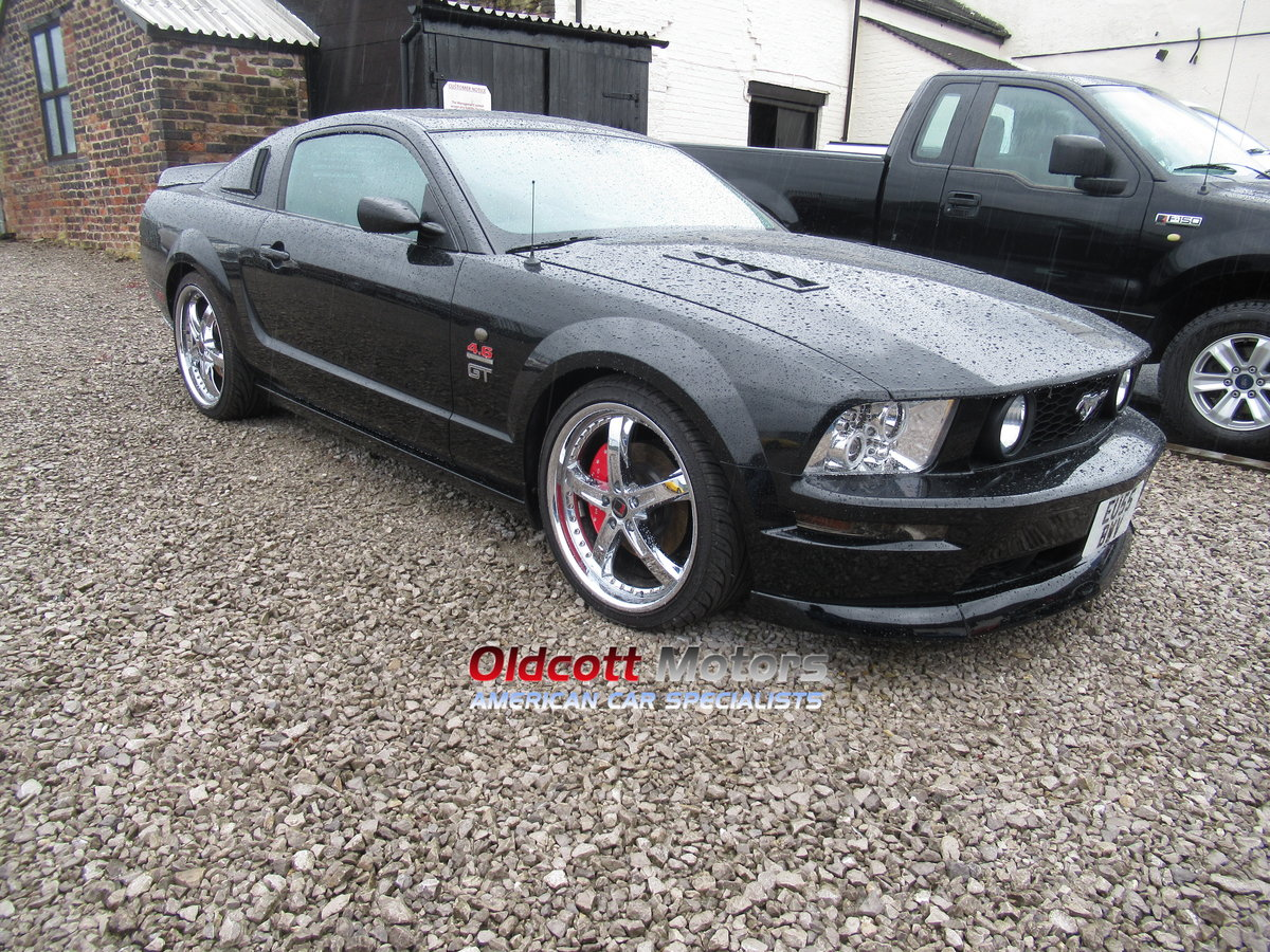 2005 FORD MUSTANG 4.6 LITRE SUPERCHARGED For Sale (picture 3 of 6)