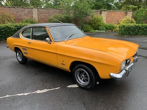 **NEW ENTRY** 1972 Ford Capri SOLD by Auction