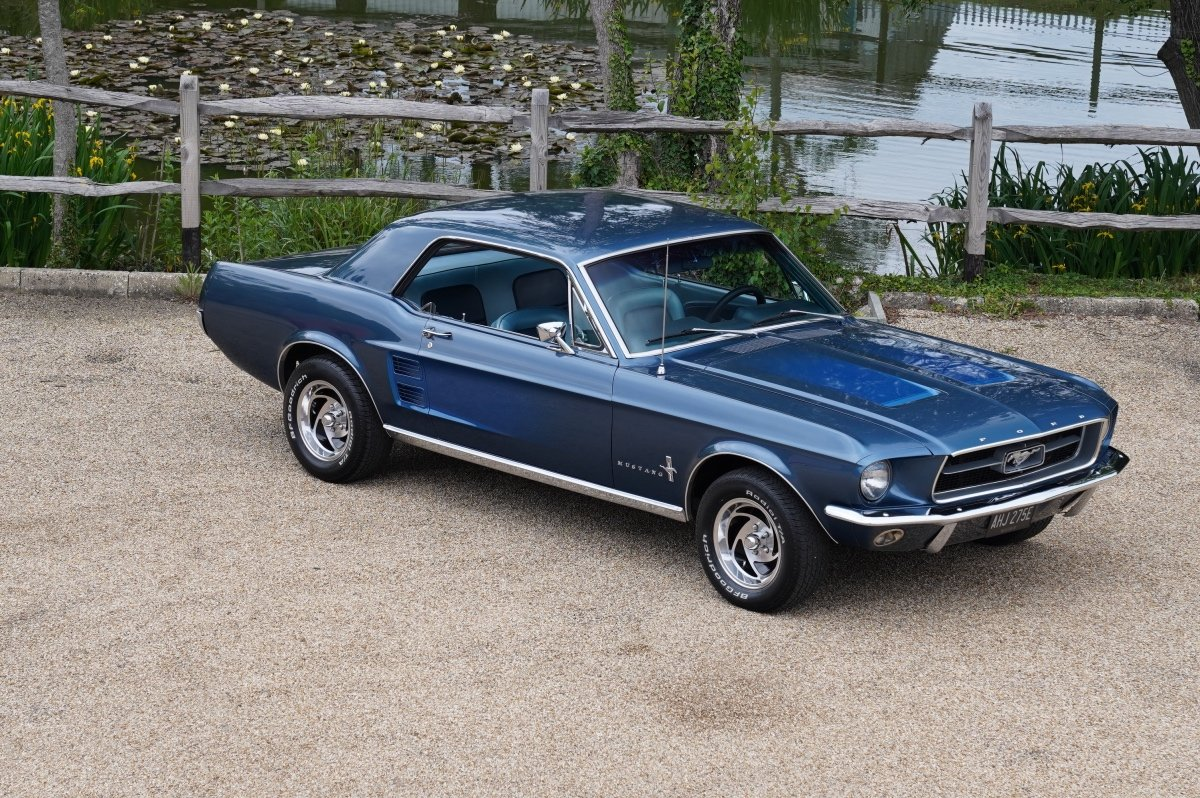 1967 FORD MUSTANG 289 COUPE AUTOMATIC , POWER STEERING, NEW POWER SOLD (picture 1 of 6)
