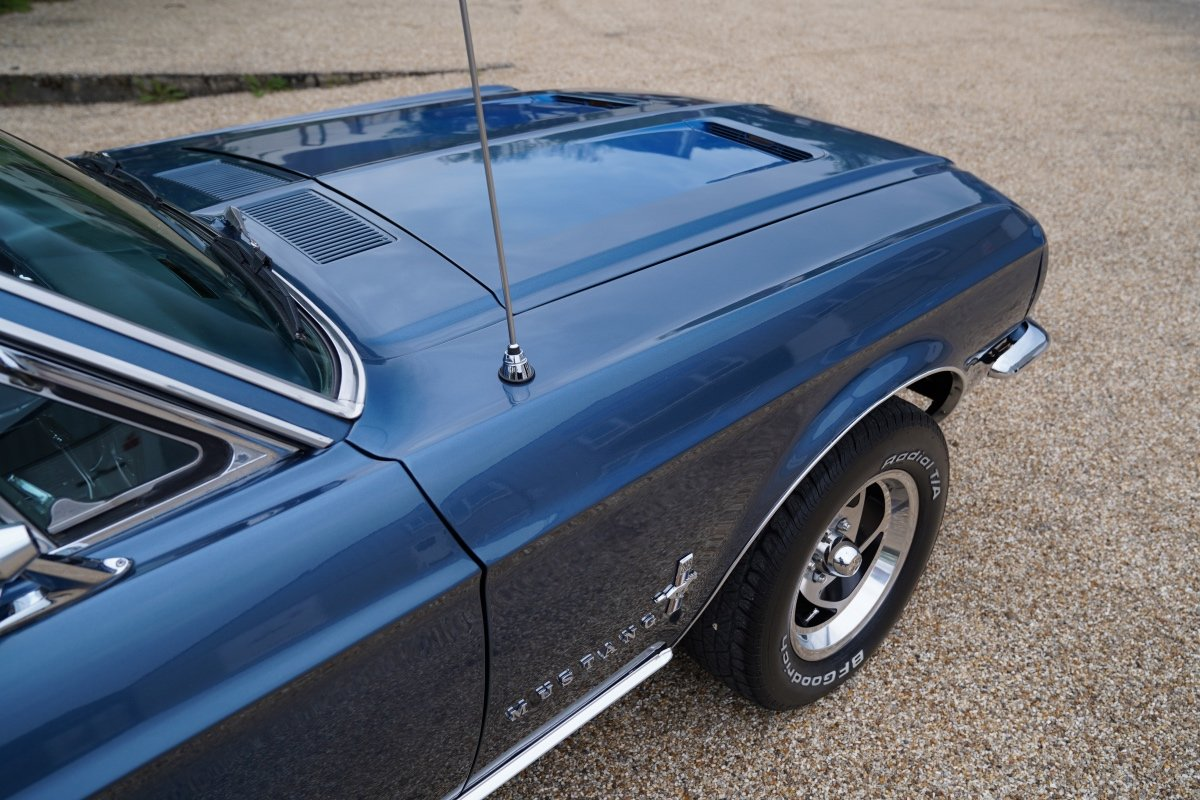 1967 FORD MUSTANG 289 COUPE AUTOMATIC , POWER STEERING, NEW POWER SOLD (picture 4 of 6)