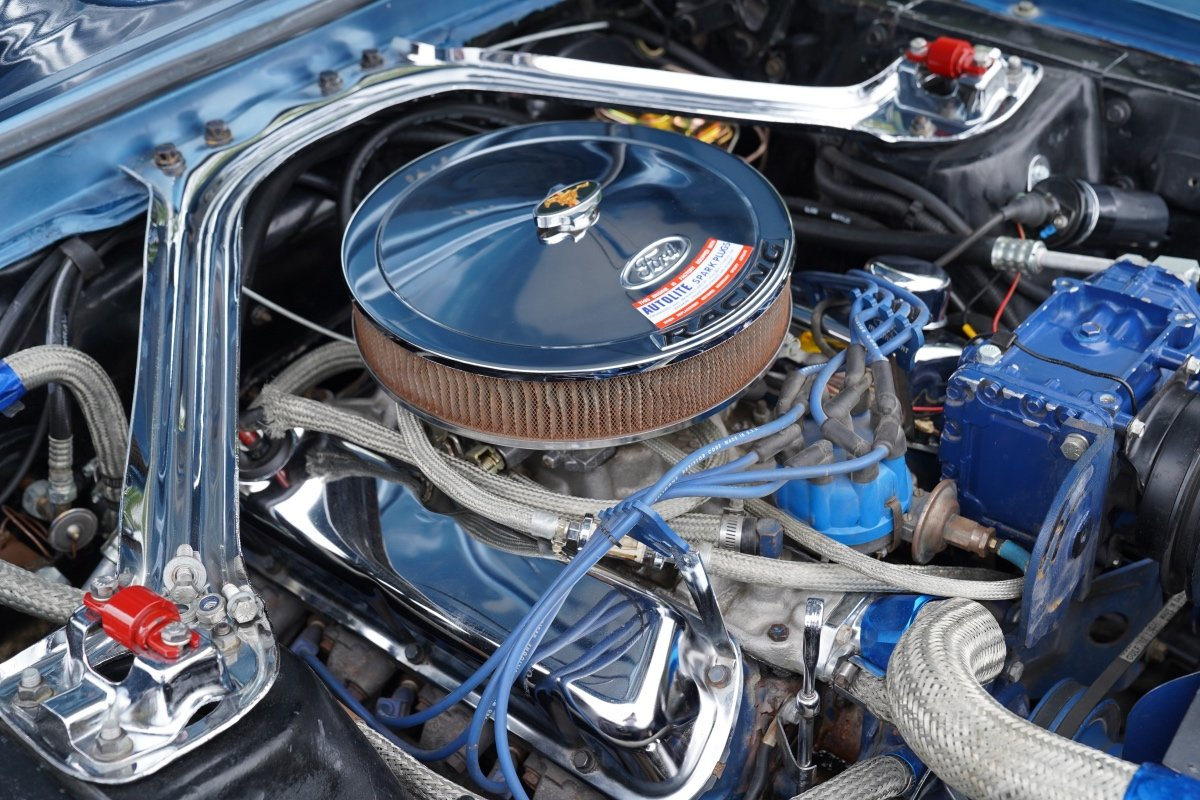1967 FORD MUSTANG 289 COUPE AUTOMATIC , POWER STEERING, NEW POWER SOLD (picture 5 of 6)