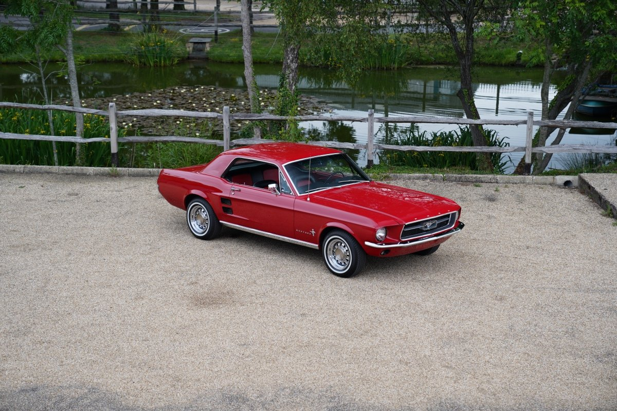 1967 FORD MUSTANG COUPE FULLY RESTORED 3300CC AUTOMATIC , POWER S For Sale (picture 1 of 6)