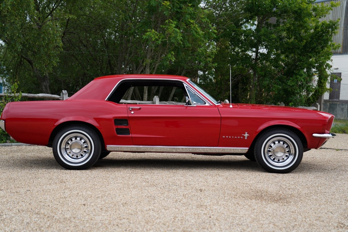 1967 FORD MUSTANG COUPE FULLY RESTORED 3300CC AUTOMATIC , POWER S For Sale (picture 3 of 6)