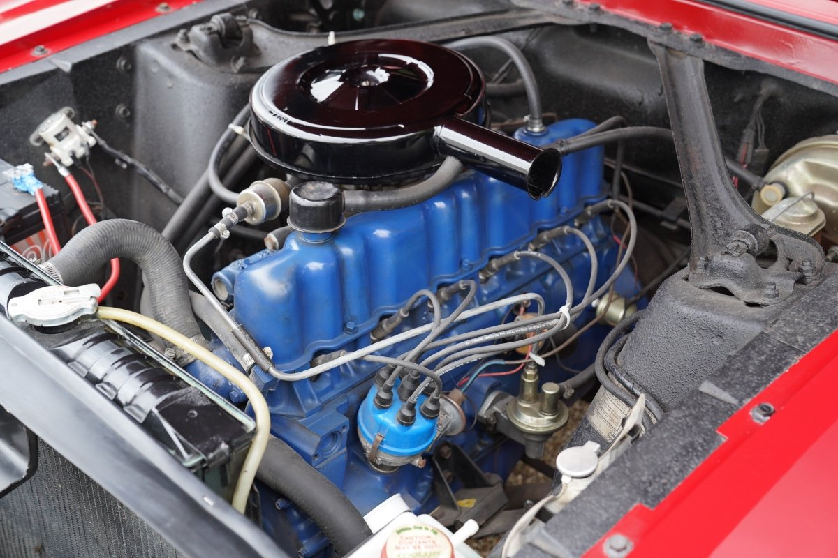 1967 FORD MUSTANG COUPE FULLY RESTORED 3300CC AUTOMATIC , POWER S For Sale (picture 6 of 6)
