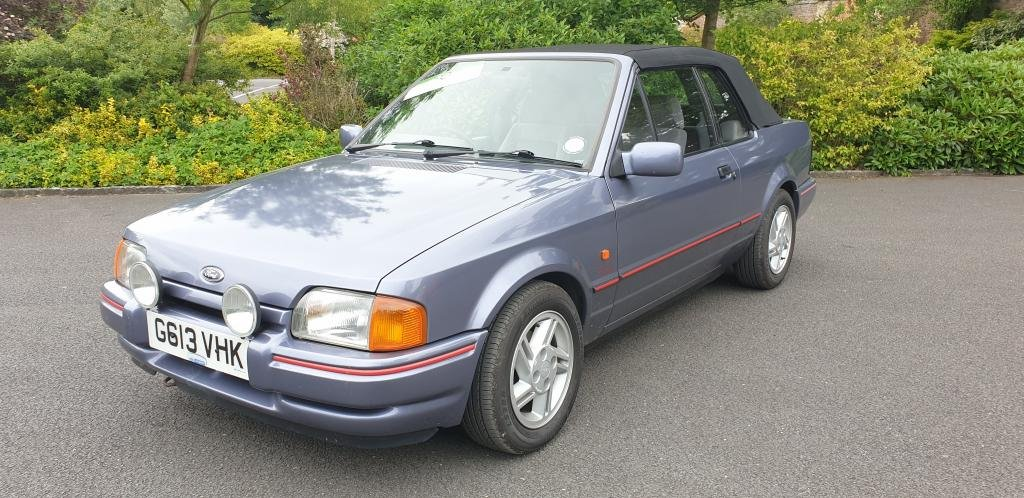 1989 **NEW ENTRY** Ford XR3i 1.6l Convertible For Sale by Auction (picture 1 of 1)