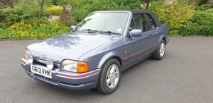 1989 **NEW ENTRY** Ford XR3i 1.6l Convertible SOLD by Auction