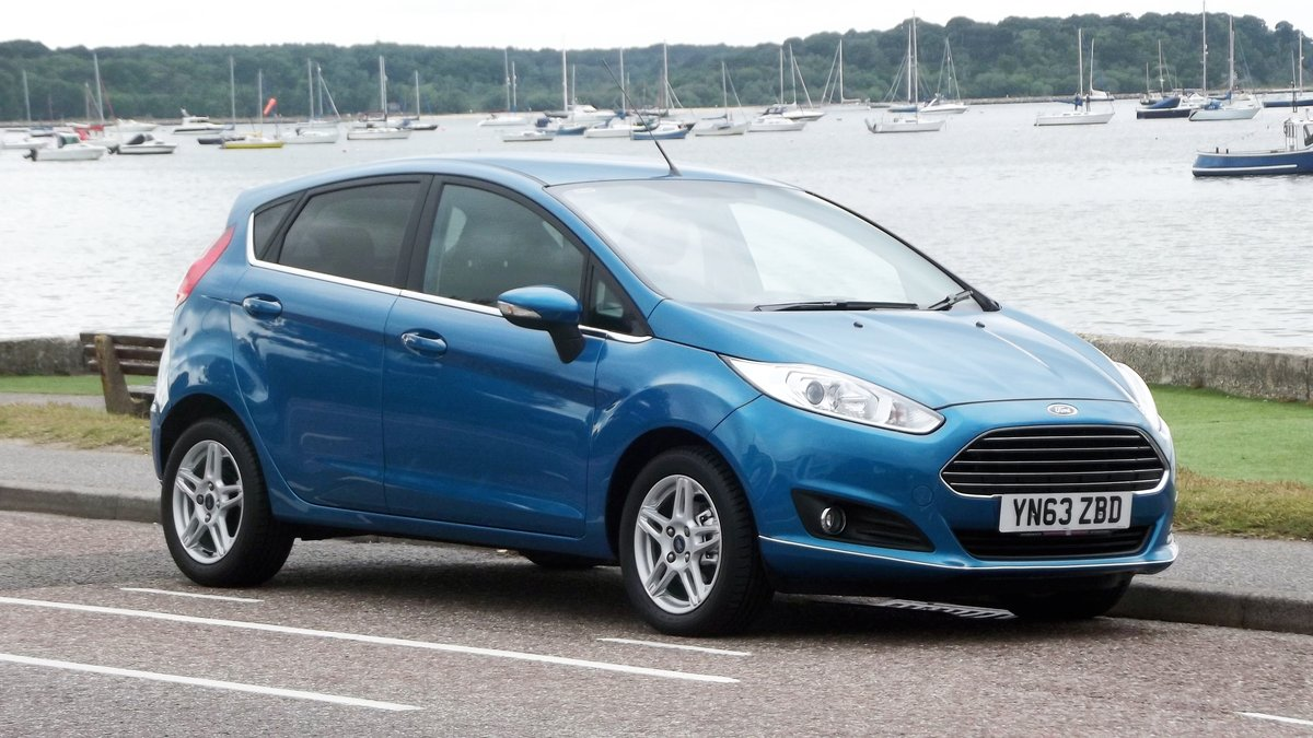 2013 '63' FORD FIESTA ZETEC 1.0 TURBO (100ps) ECO BOOST 5 DO SOLD (picture 1 of 6)