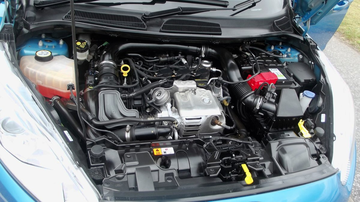 2013 '63' FORD FIESTA ZETEC 1.0 TURBO (100ps) ECO BOOST 5 DO SOLD (picture 5 of 6)